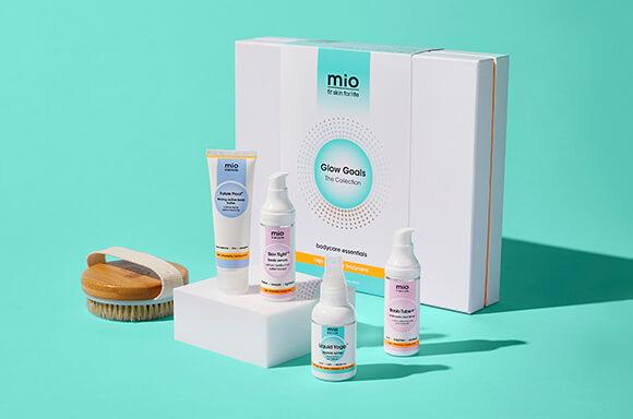 Mio Glow Goals Bodycare Collection