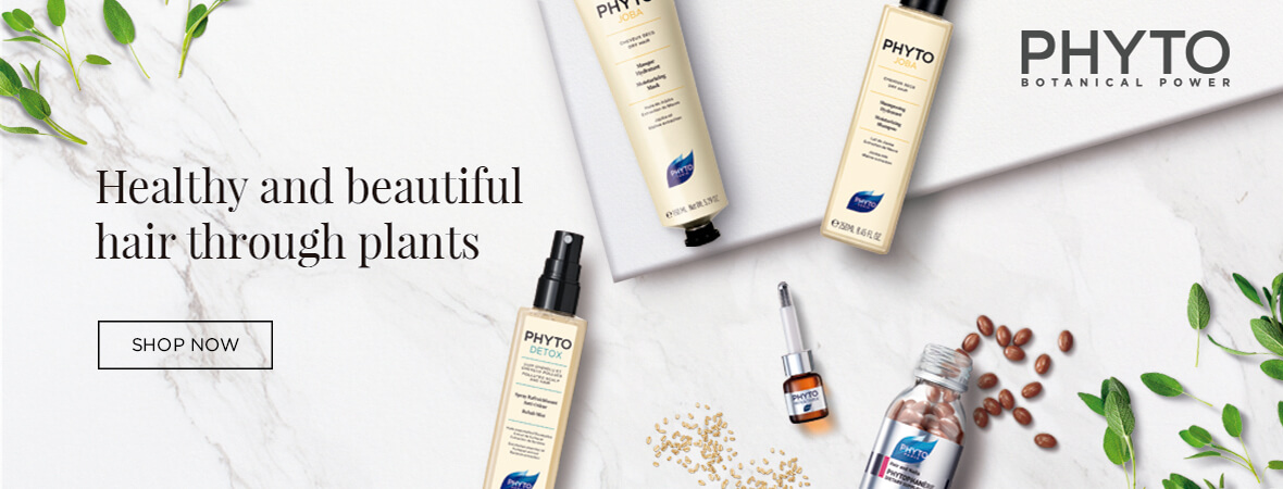 Healthy and beautiful hair through plants. Shop Now