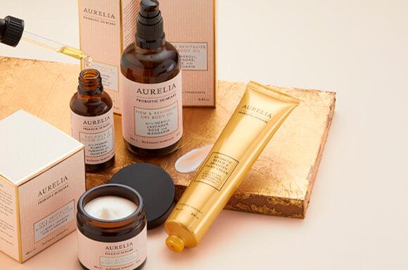 Aurelia Probiotic skincare range