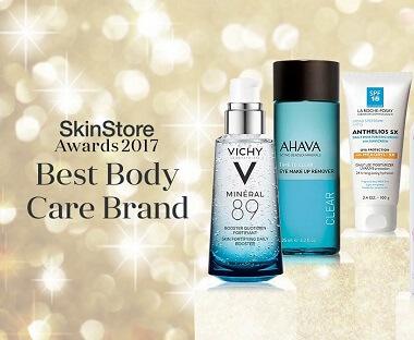 SkinStore Awards 2017: Best Body Care Brand