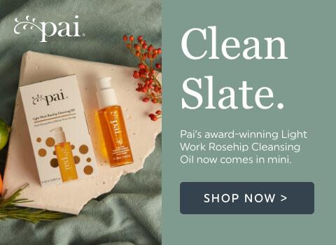 Clean Slate, award winning rosehip oil now comes in mini
