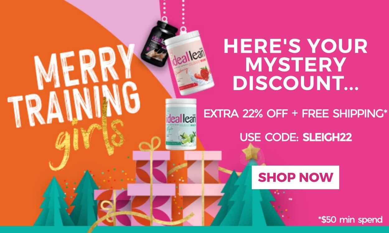 mystery discount: extra 22% off + free shipping when you spend $50 with code SLEIGH22