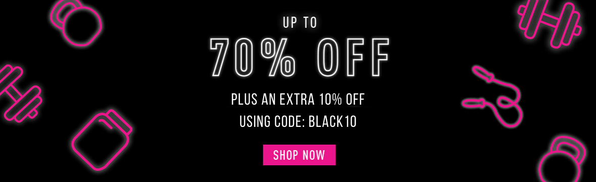 Up to 70% off + an extra 10% off