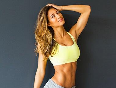 Karina a women fitness model