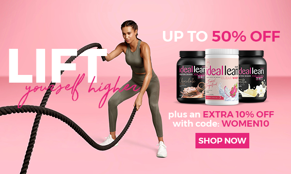 Up to 50% off + extra 10% off with code: WOMEN10