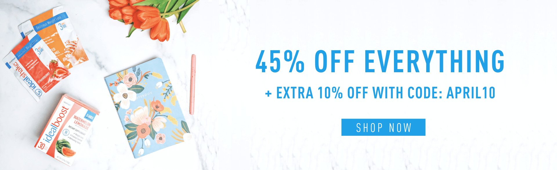 45% Off Everything + Extra 10% Off