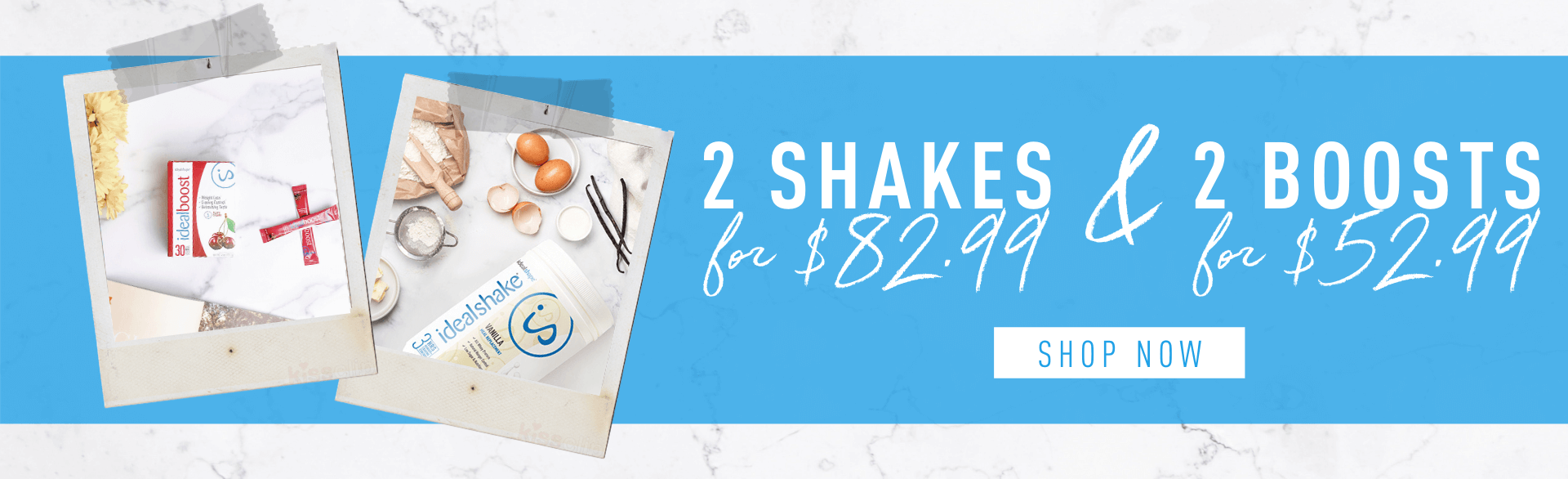 2 shakes for $82.99 and 2 boost for $52.99