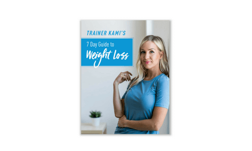 Free 7 Day Weight Loss Guide eBook
