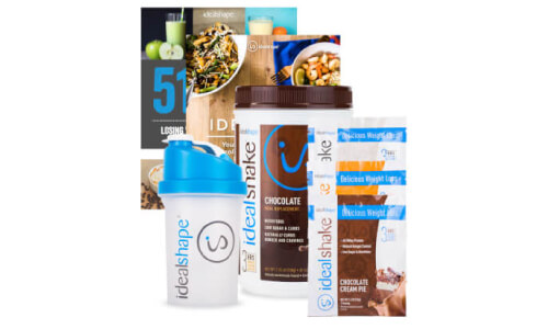 IdealShake, 3 IdealShake Meal<br> Packs & FREE Shaker Bottle