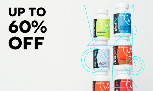 Up to 60% off Supplements