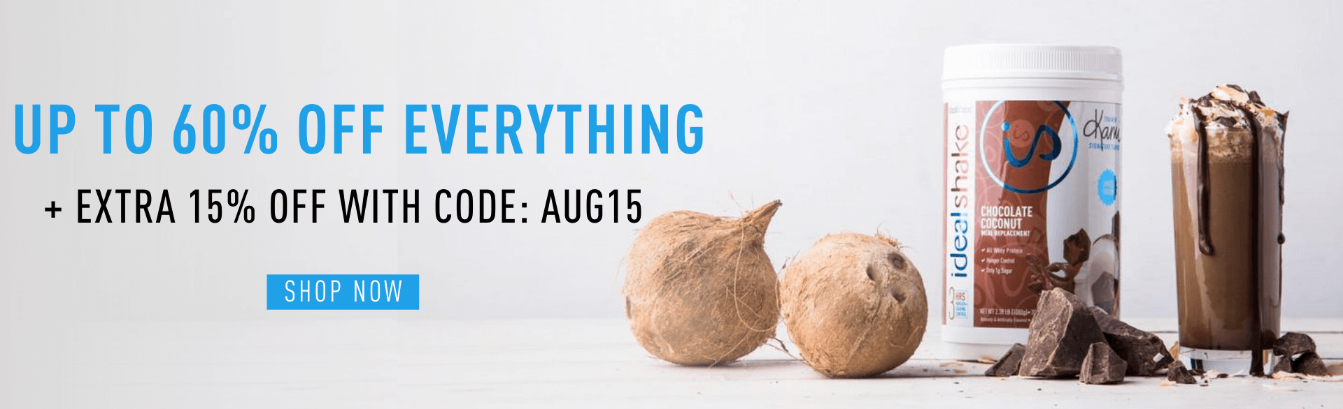 up to 60% off everything + extra 15% off | Use code: AUG15