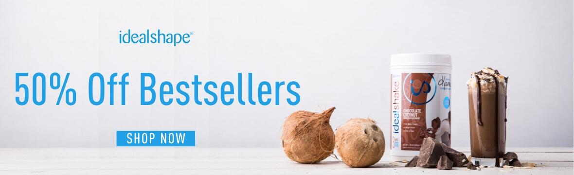 50% off bestsellers