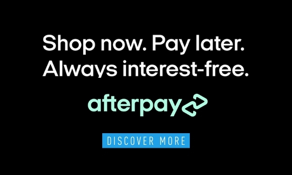 Afterpay Shop now. Enjoy now. Pat later