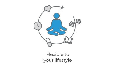 Flexible to your lifestyle