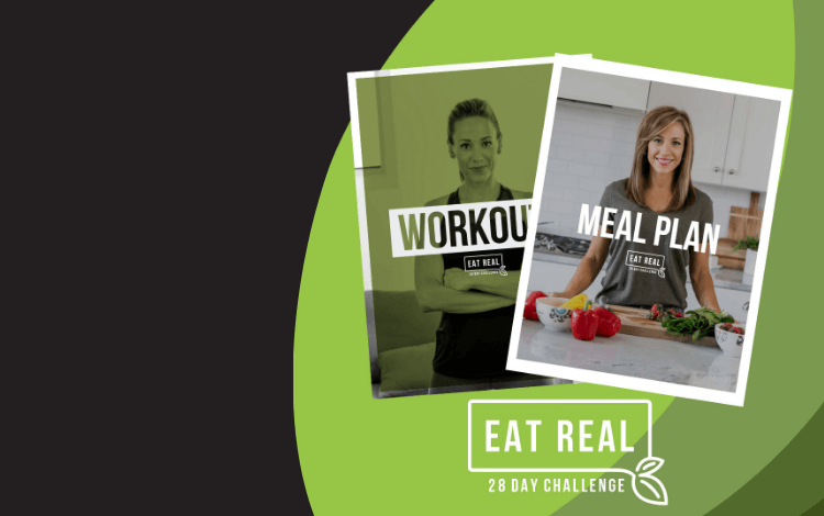 Save 30% on the Eat Real Challenge!