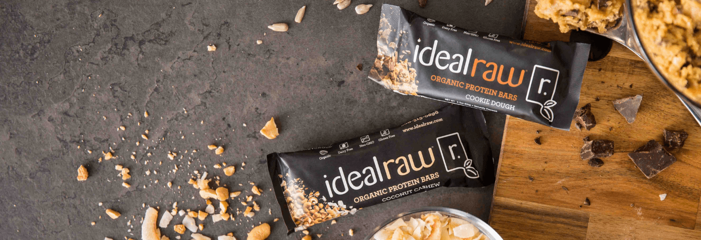 IdealRaw Organic Protein Bars