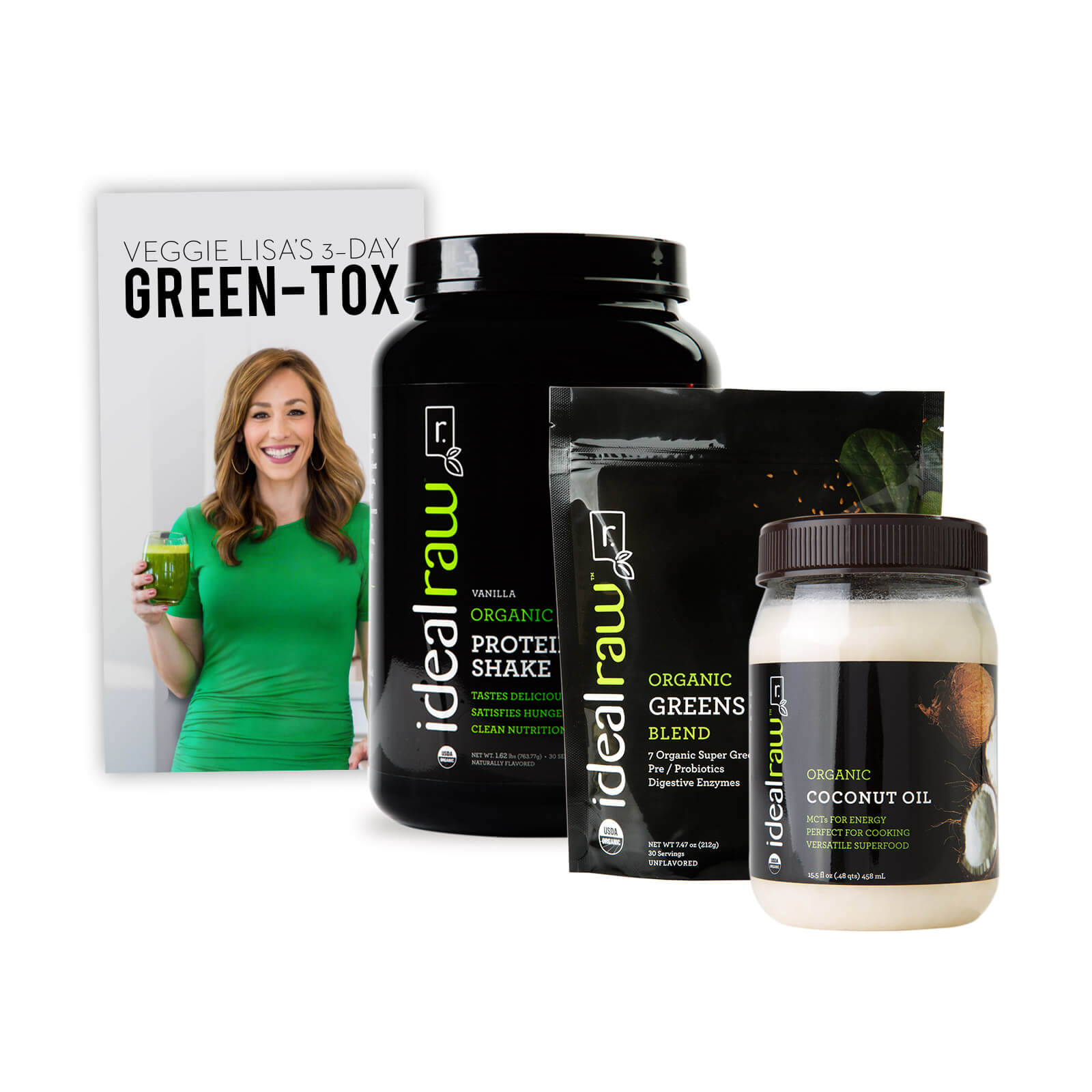 3-Day Green-Tox Bundle + FREE Ebook