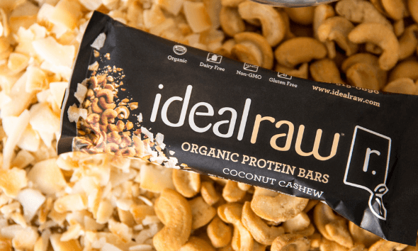Coconut Cashew Protein Bar