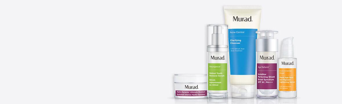 murad product range