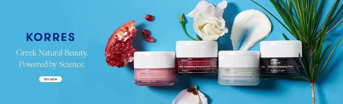 Shop All KORRES Skincare & Bodycare