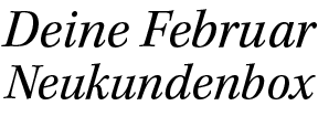 Februar Logo Glossybox