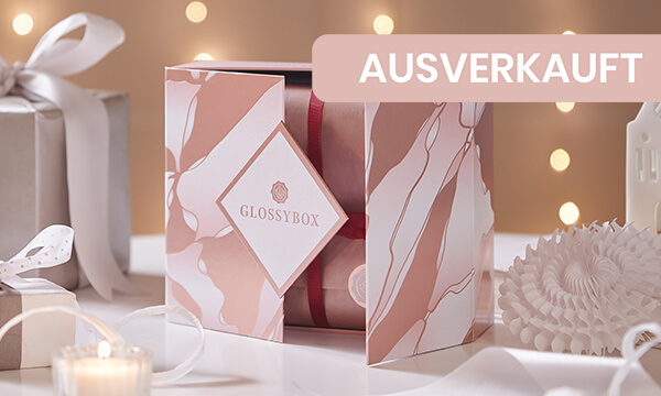 GLOSSYBOX Xmas Limited Edition 2020 shop open
