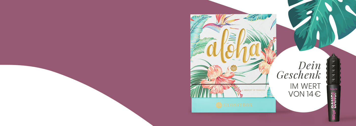 July 2020 Glossybox Aloha GWP Benefit Mini Mascara