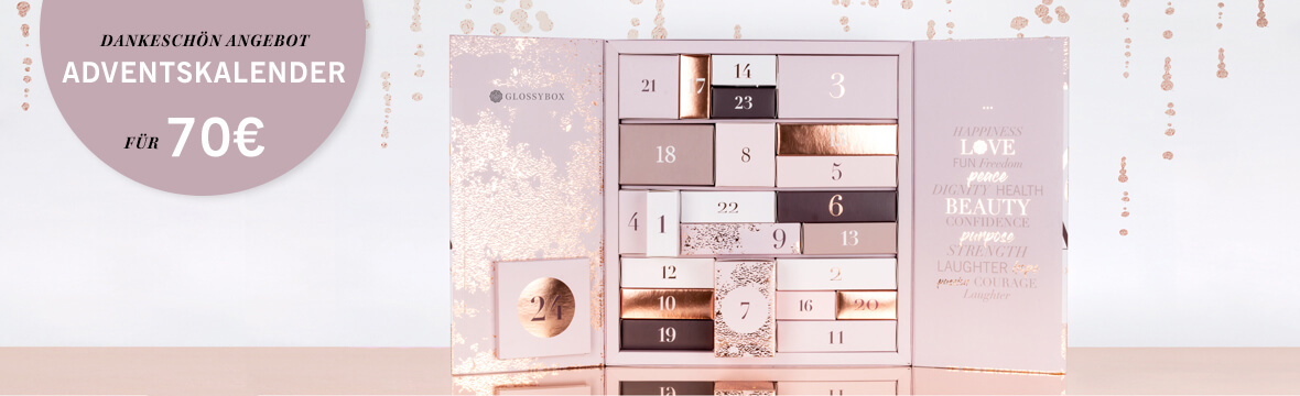 GLOSSYBOX BEAUTY Adventskalender 2018
