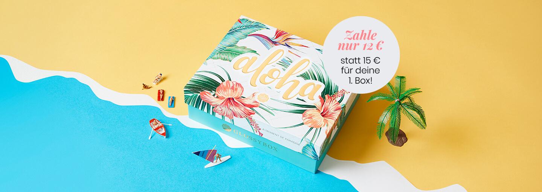 July 2020 Glossybox Aloha