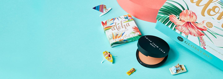 July 2020 Glossybox Aloha sneak peek give them lala beauty
