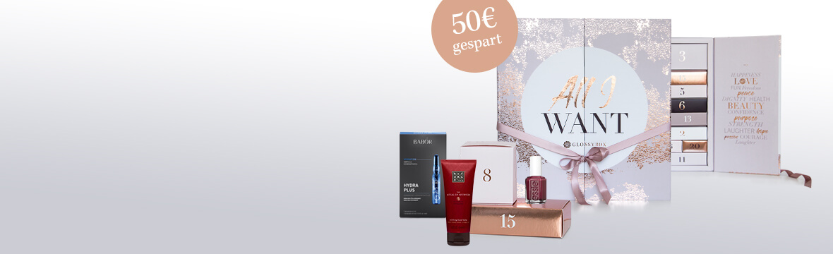 GLOSSYBOX Beauty-Adventskalender