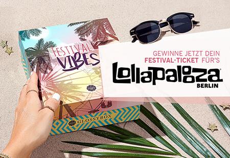Lollapalooza Berlin Gewinnspiel