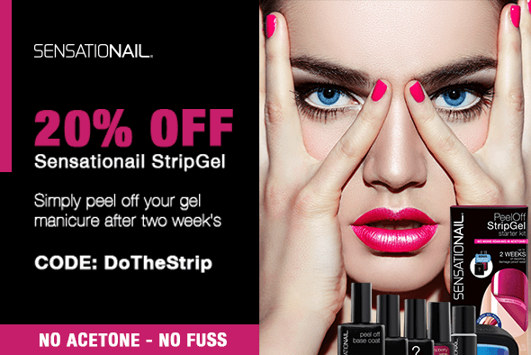 20% OFF AT-HOME GEL NAILS