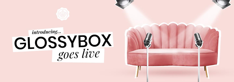 GLOSSYBOX goes live