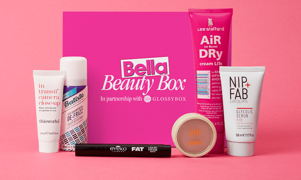 GLOSSYBOX x Bella Beauty Box