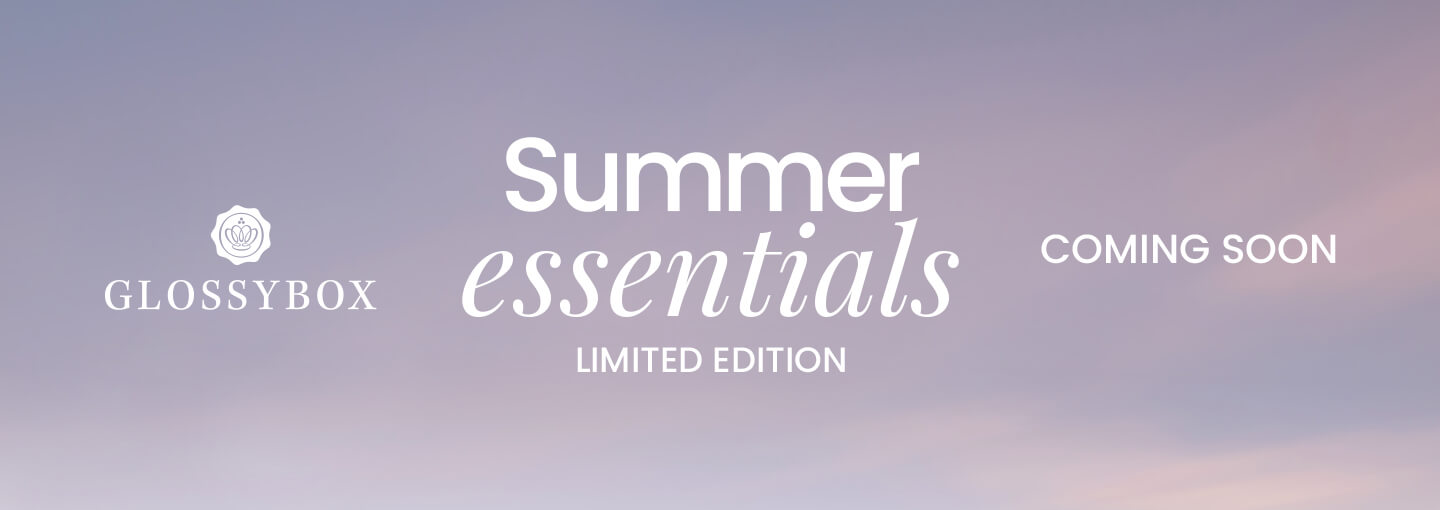 Summer Essentials 2020 GLOSSYBOX Coming Soon
