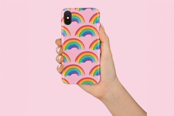 WIN A PRIDE RAINBOW PHONE CASE
