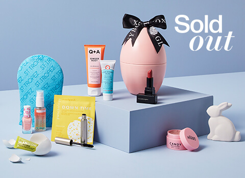 Easter Egg Limited Edition GLOSSYBOX with Golden Ticket