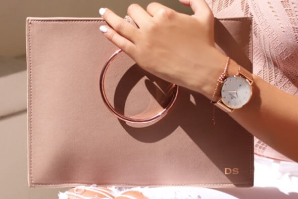 WIN A PERSONALISED CLUTCH BAG & WATCH