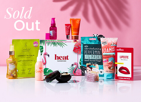 heat Summer Box Limited Edition June 2020 GLOSSYBOX Coming Soon