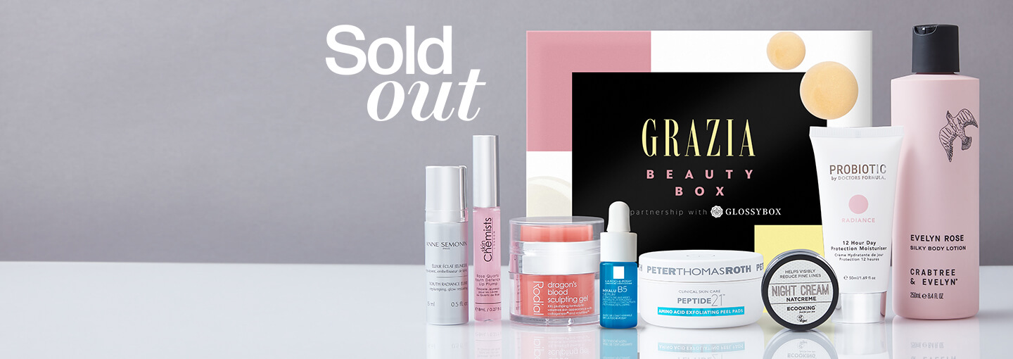 Grazia Limited Edition 2020 GLOSSYBOX Coming Soon