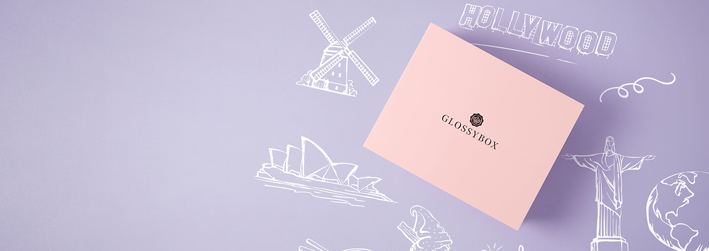 Discover a World of Beauty with this month's GLOSSYBOX - Enjoy 20% off your first box when you use code BEAUTY20