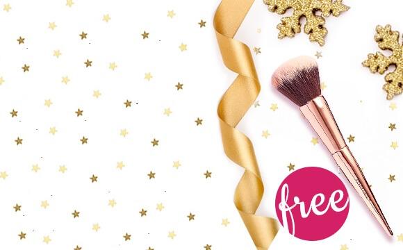 Free Makeup Brush Duo