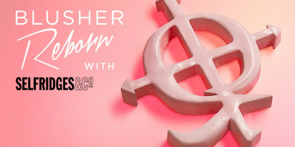 Join us to celebrate the launch of our <br>new colour veil blusher