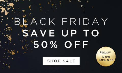 Black Friday - Shop up to 50% off