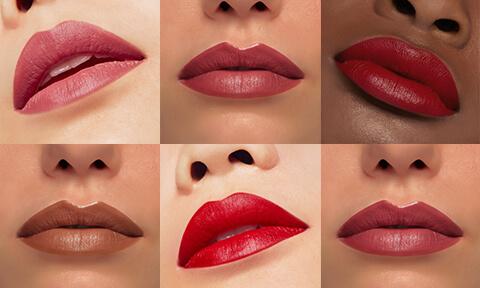 Créez de belles lèvres audacieuses avec nos Rouges à lèvres, Crayons à lèvres et Lip Polish. Choisissez un fini mat, satiné ou glossy.
