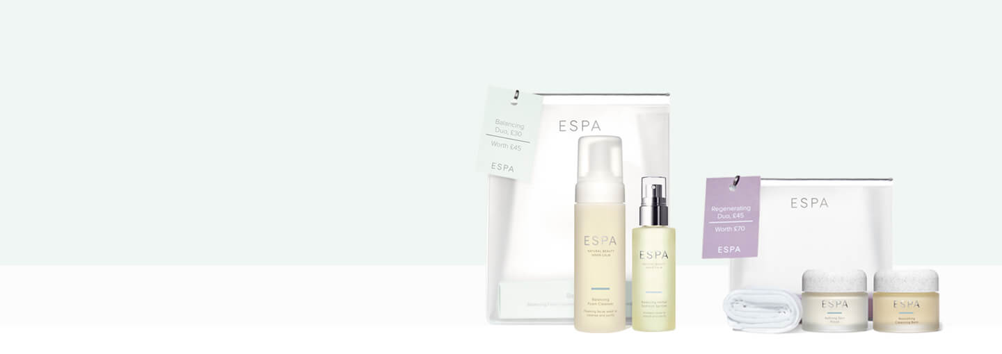 Save up to £25 with ESPA duos