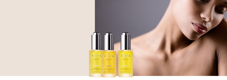 Nature's finest facial oils