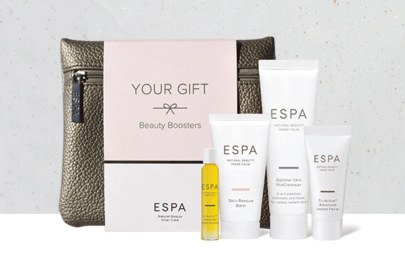 Beauty Boosters (worth £42)