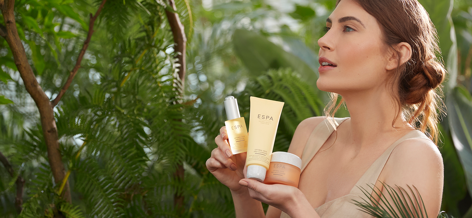 Find your perfect skincare routine with our Skin Consultation quiz, designed by our ESPA experts. Enjoy 15% off when you complete your simple routine or 25% off when you complete your full routine. <br> *Discount Applies at Checkout*